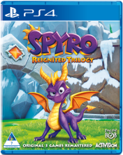 Spyro Reignited Trilogy Playstation 4 Cover