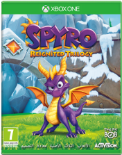 Spyro Reignited Trilogy Xbox One Cover
