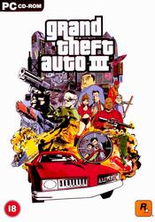 Grand Theft Auto III PC Cover