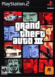 Grand Theft Auto III PS2 Cover
