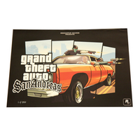 Grand Theft Auto: San Andreas - Limited Edition Drive By Lithographien