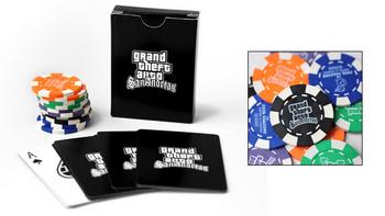 Grand Theft Auto: San Andreas - Spielkarten & Poker Chips