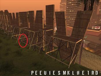 Waffen Fundort in Los Santos - Bild wird geladen