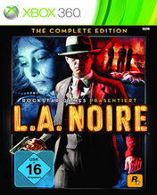 L.A. Noire Xbox 360 The Complete Edition Cover