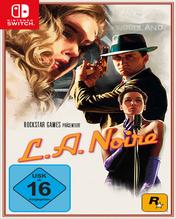 L.A. Noire Nintendo Switch Cover