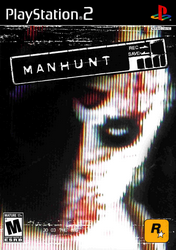 Manhunt Playstation 2 Cover