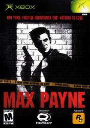 Max Payne Xbox Cover