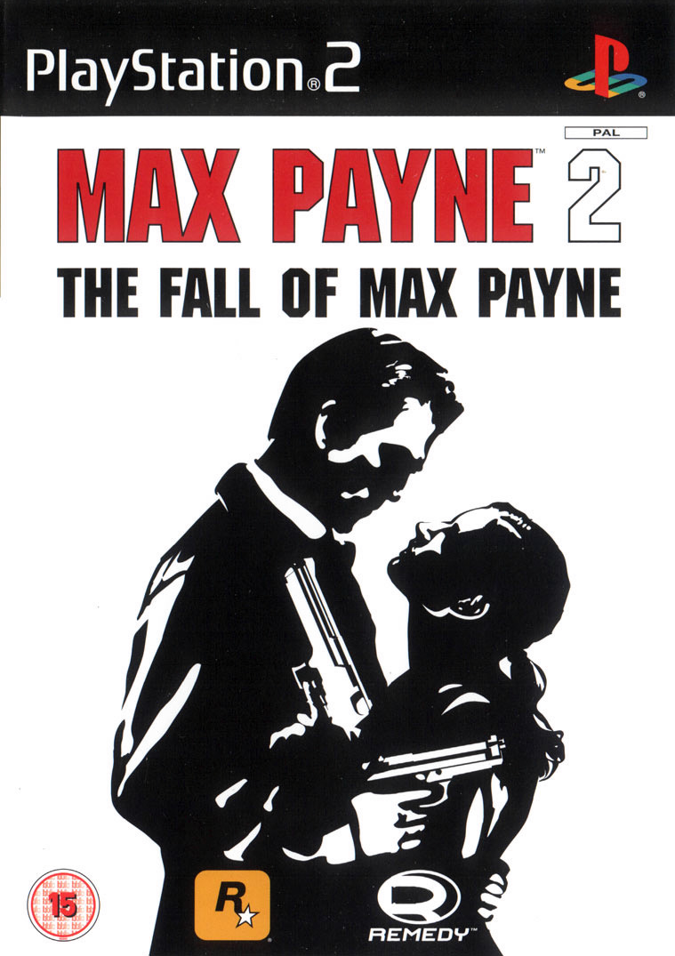 Max Payne 2 Playstation 2 Cover