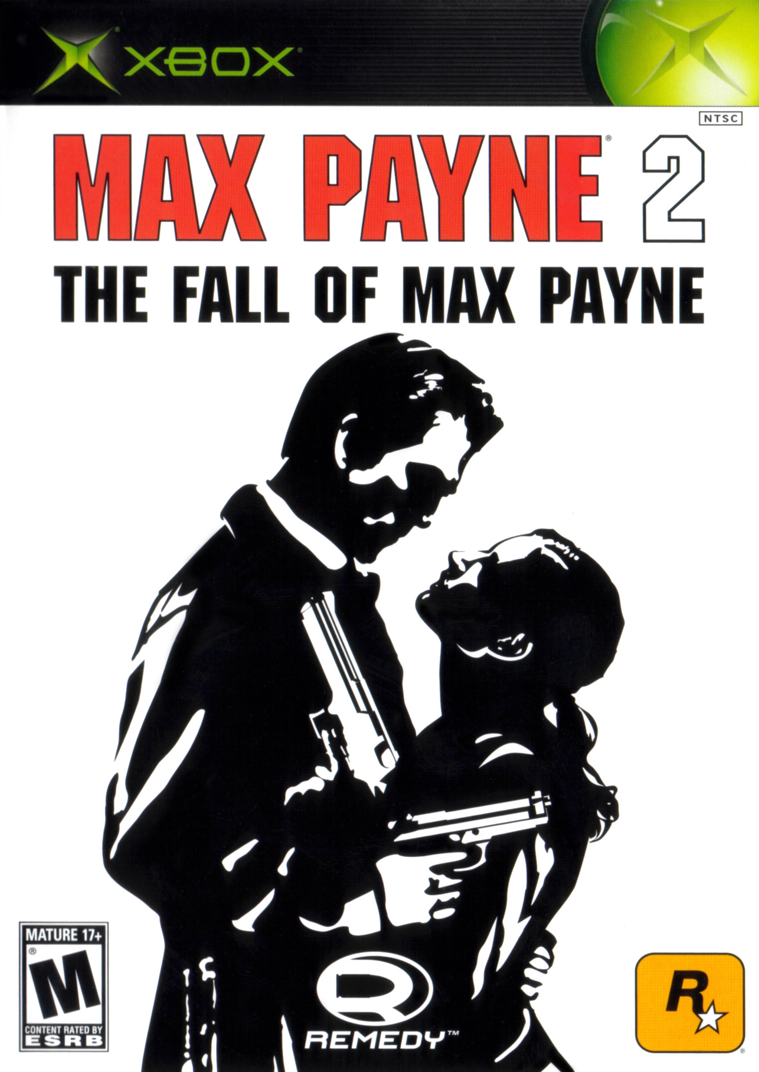 Max Payne 2 Xbox Cover