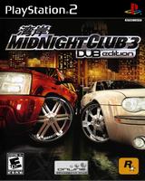 Midnight Club 3: DUB Edition Playstation 2 Cover