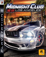 Midnight Club: Los Angeles Playstation 3 Cover