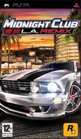 Midnight Club: Los Angeles PSP Cover