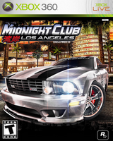 Midnight Club: Los Angeles Xbox 360 Cover